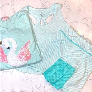 Girls Tennis Outfit